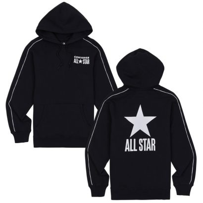 ALL STAR TRACK PO HOODIE BLACK