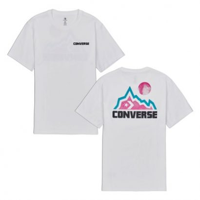 MOUNTAIN MOON TEE WHITE