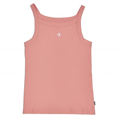 CONVERSE HIGH NECK RIBBED TANK