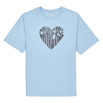 CONVERSE LOVE WARPED GRAPHIC T-SHIRT